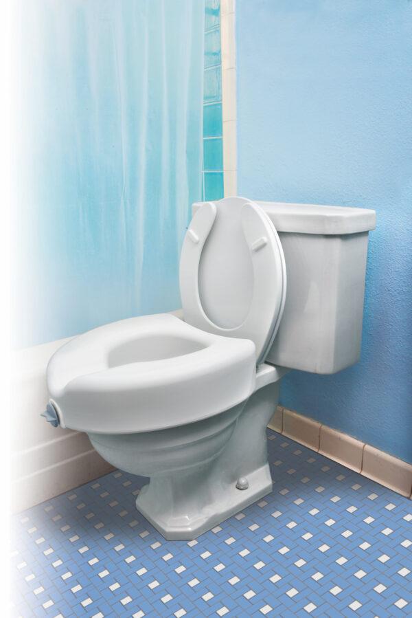 Locking Raised Toilet Seats