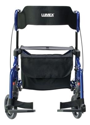 Lumex Hybrid LX Rollator Transport Chair