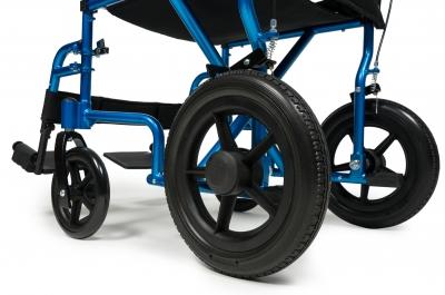 Transport Chair Deluxe Aluminum