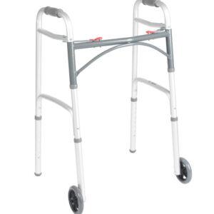 """Folding Walker with 5"""" Wheels"""