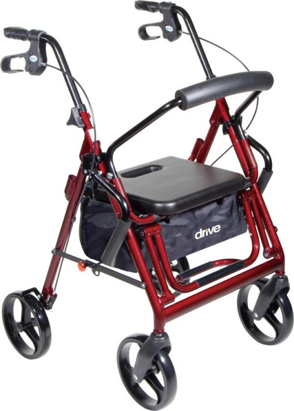Duet Rollator/Transport Chair