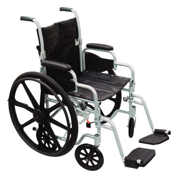 Poly-Fly Lightweight Wheelchair/Transport Chair Combo
