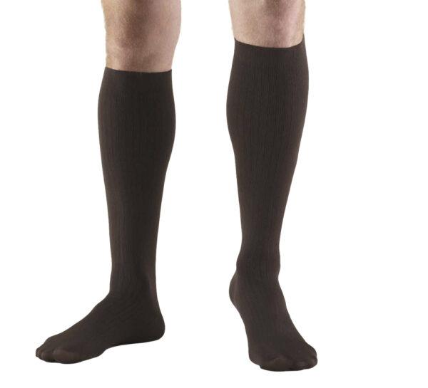 MEN'S DRESS WEAR KNEE HIGH TROUSER SOCKS: 8 - 15 mmHg