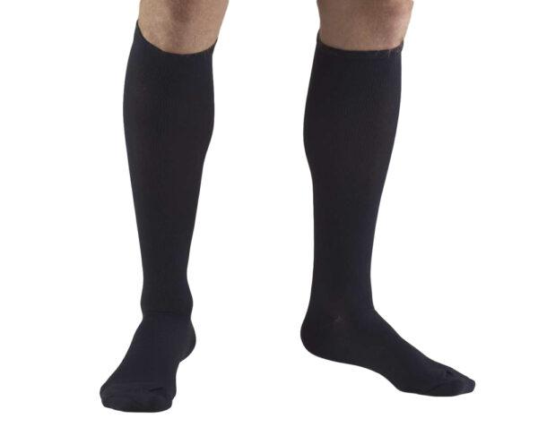 MEN'S DRESS WEAR KNEE HIGH TROUSER SOCKS: 20 - 30 mmHg