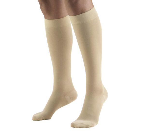 KNEE HIGH, SOFT TOP, CLOSED TOE: 20 - 30 mmHg
